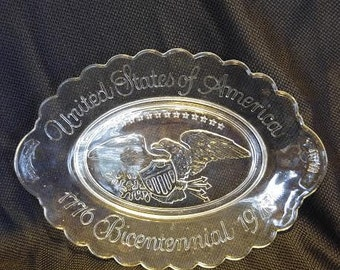 AVON Bicentennial Commemorative Plate and Box-Vintage