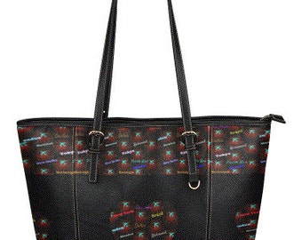 Sandra Burchette Signature Leather Large Tote Bag
