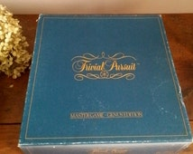 Vintage Trivial Pursuit Master Game - Genus Edition, Board Game, Horn Abbot, Made in U.S.A, NO.7, Age Adult, 2 to 24 Players, Used, Preowned