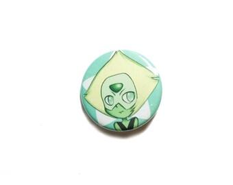 "Steven Universe Peridot button, 1.25"" button, 1.25"" badge, pinback button, pin, geek gift"