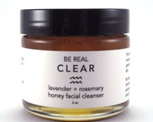 Lavender + Rosemary Honey Facial Cleanser