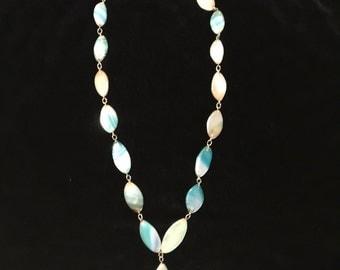 Heavenly Sky Blue Stone Necklace