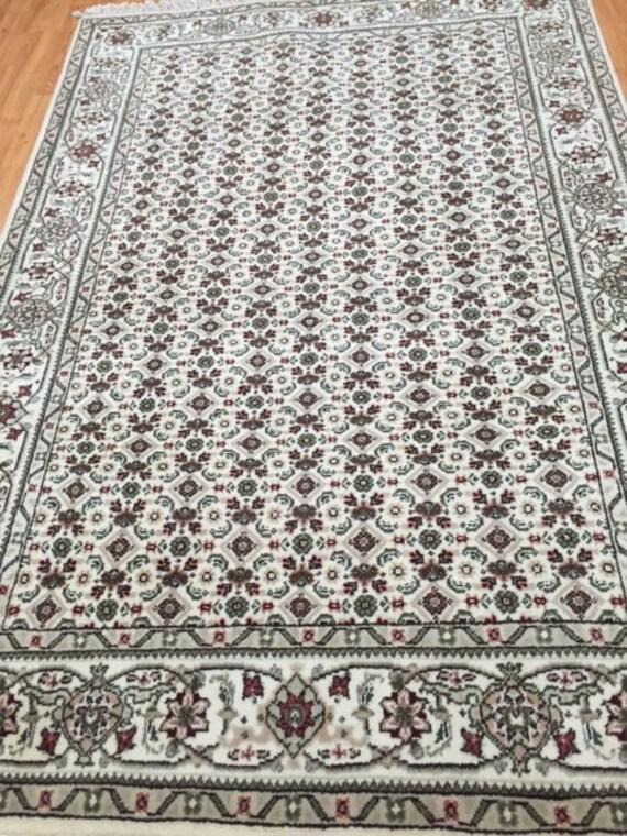 "4' x 6'3"" Sino Chinese Oriental Rug - Wool & Silk Pile - Hand Made"