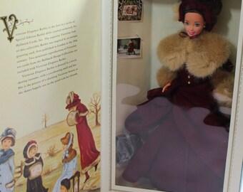 Vintage 1994 Victorian Elegance Barbie, Skating Barbie, New in box, never opened,
