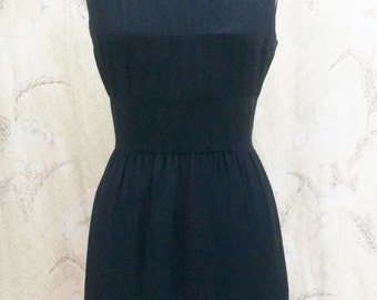 Vintage 1950s Little Black Dress, Jeunesse, New York