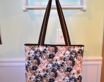 Puppy Love Tote Bag #2