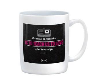 The Object of Education... Coffee Mug, gift, teacher, education, gift