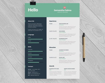 Flight Attendant Resume Template Instant Download By Papernoon