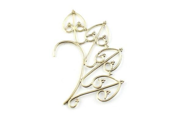 Festival Goddess Ear Wrap, Ear Cuff, Boho Jewelry, Tribal Ear Jewelry,  Festival Jewelry, Gypsy, Ethnic, Hippie Jewelry
