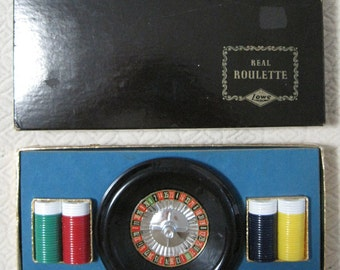 Real ROULETTE, E.S. Lowe Co., Vintage