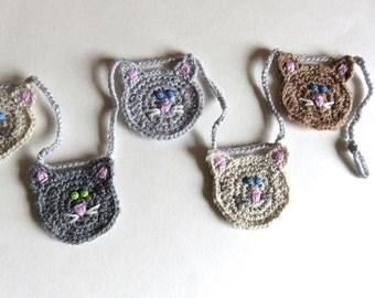 Crochet Cat Garland