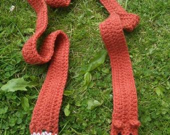 Skinny fox scarf
