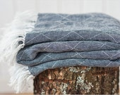 Kids linen blanket, Linen blanket, Linen throw blanket, Baby blanket, Baby shower gift,