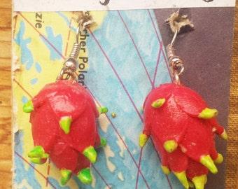 Dragon Fruit Earrings