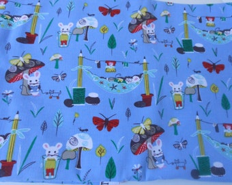 Mouse Camp by Erica Hite for Windham Fabrics Corduroy Fabric