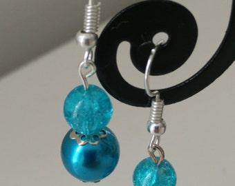 Pearl Earrings of colors