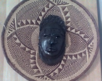 Authentic African masks
