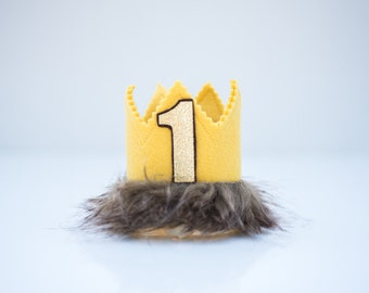 Where the Wild Things Are Inspired MAX crown, headband crown, smash cake photo prop, first birthday