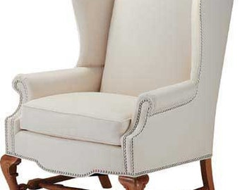 Wing chair Etsy