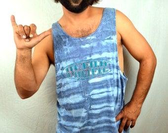 Vintage 1980s 80s 90s Ocean Pacific OP Surfer Tee Shirt Tank Top
