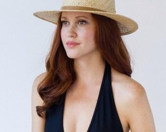 Straw, Fedora, Summer, Sun Hat, Milford hat