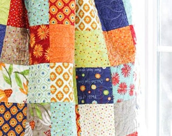 Baby Quilt - Crib Quilt - One for You One for Me - READY-2- SHIP - Homemade Quilts