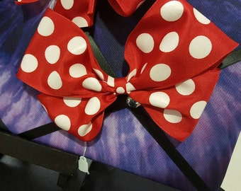 "6"" Minnie Mouse Style Boutique Bow"