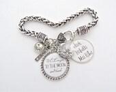 GRANDMA Jewelry, I love you to the MOON and BACK Bracelet, Grandma Gift , Photo Bracelet, Gifts for Mom, Nana Grammie Memaw Mimi Grandmother