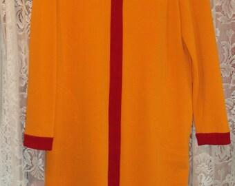 XL Vintage Lillie Rubin Mod Sweater Dress