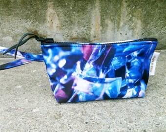 Indigo Crystals Cosmetic Bag
