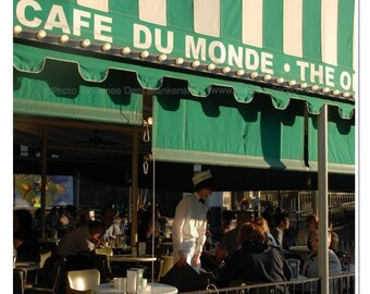 At the Cafe du Monde Photograph