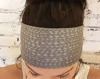 Yoga Headband - Mottled Soft Brown - Eco Friendly