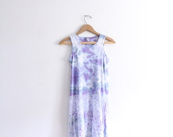 Dreamy Tie Dye 90s Dress