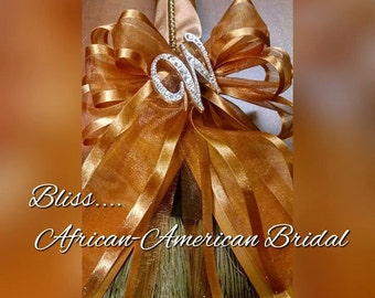 The Bliss Bridal Broom for Jumping the broom