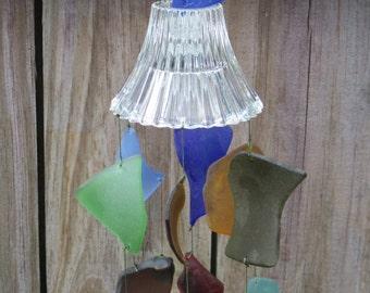 Sea Glass Wind Chime #259