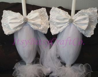 Lambathes / Greek Wedding Candles / Lambades