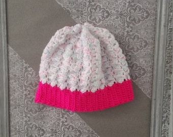 Birthday Cake Crochet Hat