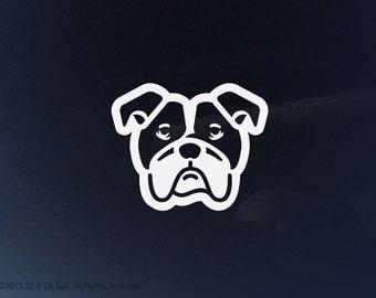 Cute Bulldog Sticker Etsy