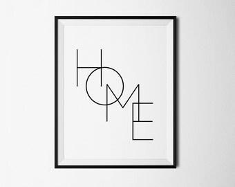 Home print, Wall Prints, Printable digital, Home printable, Home wall print, Home wall art, Home poster, Wall decor, Wall print