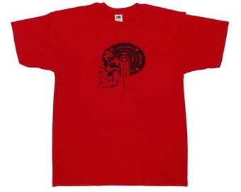 Mountain bike T shirt - Only one in red colour (size L)