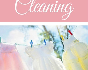 Cleaning Bundle - Instant Download - Daily Checklist, Weekly Chores, Seasonal Cleaning