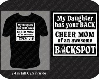 Cheer mom shirt backspot cheer shirt backspot cheer mom shirt proud cheer mom shirt of backspot cheerleader backspot cheerleader shirt