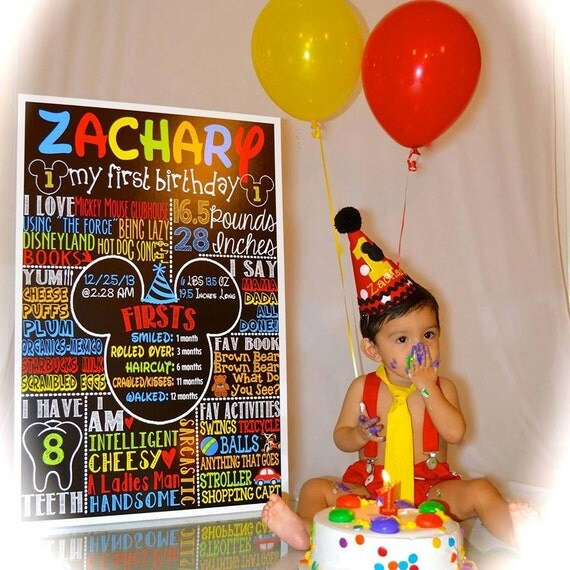 Mickey Mouse 1st Birthday Mickey Mouse Birthday idea first