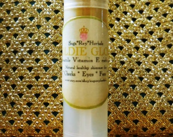 Goldie Gloss * All-In-One Golden Glittery Tint for Face, Body, Hair, Eye, Cheek, Lip
