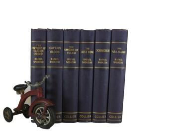 Purple Decorative books ,  antique books , interior design ,   decorative books , wedding decor , old books ,  book decor