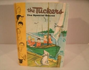 The Tuckers, The Special Secret, Jo Mendel, Vintage 1960s Children's Book, 1961
