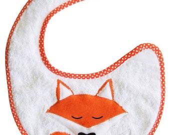 Scalable bib Fox, Panda, or chick