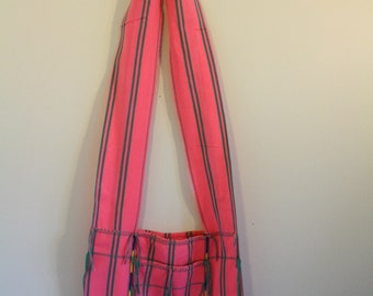 Ethnic Boho Chic Pink Shoulder Bag