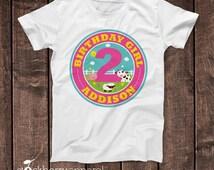 Girl Farm Birthday Shirt - Personalized Farm Birthday Outfit - Girl Farm Party - Custom Farm Animal Birthday Shirt - 2nd Birthday Shirt Girl