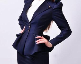 Enia navy Suit